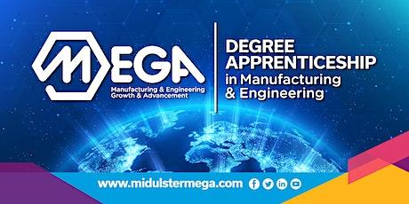 MEGA Degree Apprenticeship Virtual Evening tickets
