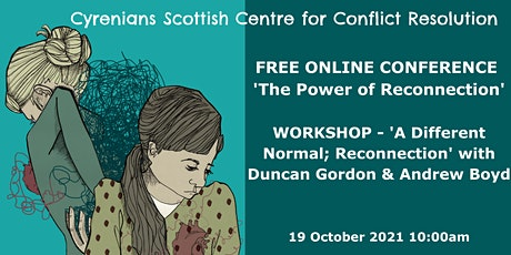 SCCR ONLINE CONFERENCE - A Different Normal–'Reconnection' workshop tickets