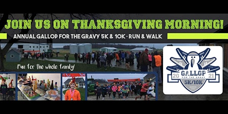 Gallop for the Gravy 5K & 10K 2021 tickets