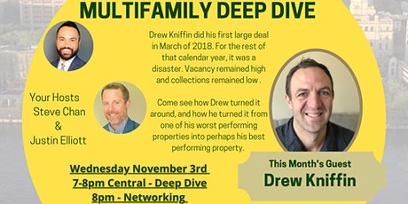 November Multifamily Deep Dive - Drew Kniffin tickets