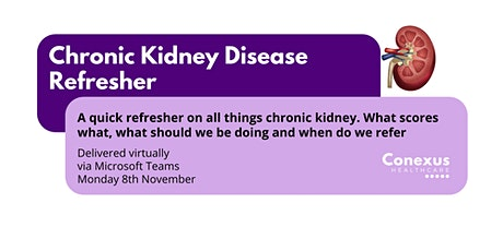 Chronic Kidney Disease Refresher tickets