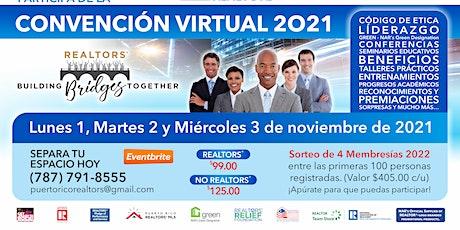 Convención Virtual Puerto Rico REALTORS® 2021 boletos