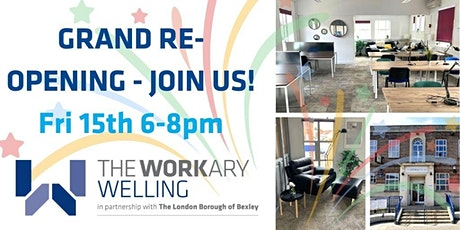 The Workary Welling Re-launch Event tickets