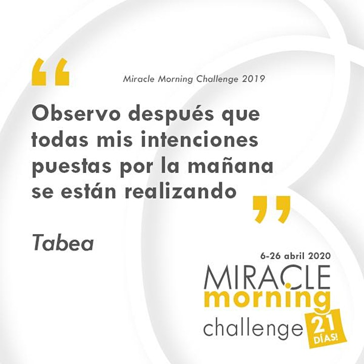 Imagen de Miracle Morning - Vuelta del verano - Challenge 21 días
