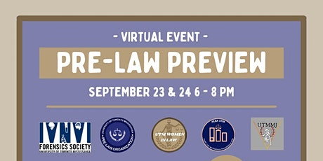 Pre-Law Preview Tickets
