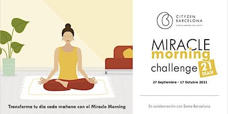 Miracle Morning - Vuelta del verano - Challenge 21 días billets