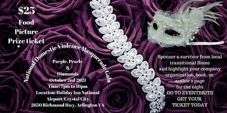 Domestic Violence Rally Purple, Pearls & Diamonds Masquerade Gala tickets