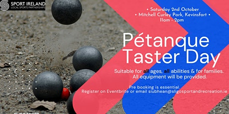 Pétanque (Boules) Taster Day tickets