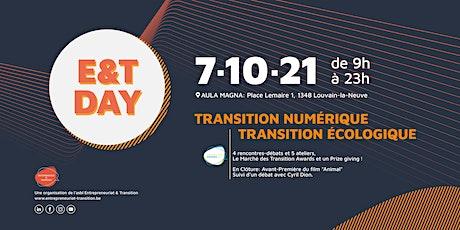 E&T Day 2021 - Entrepreneuriat & Transition billets
