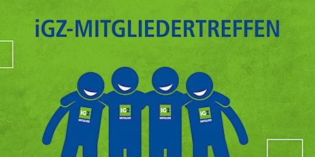 iGZ-Mitgliedertreffen Hamburg Tickets