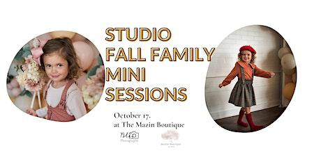 Studio Fall Family Mini Session @ Mazin Boutique tickets