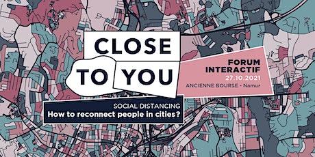 Forum 2021 :La pandémie : une voie vers la ville résiliente ? billets