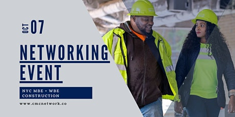 CMC Network MBE + WBE Contractor After Hours Networking Event October 7 tickets