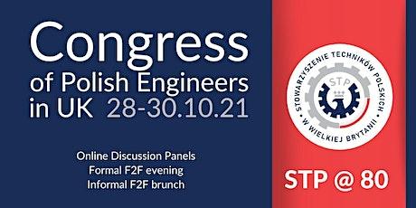 Congress of Polish Engineers in UK 2021 tickets