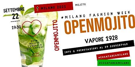 MILANO FASHION WEEK 2021 - URBAN GARDEN APERITIF con OPEN MOJITO biglietti