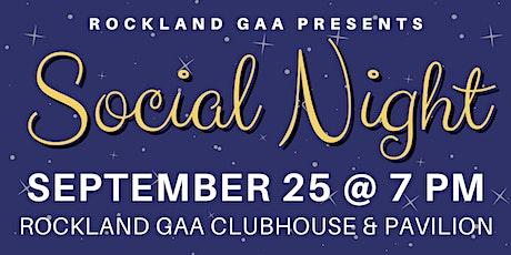 Rockland GAA Social Night tickets