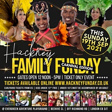 HACKNEY FAMILY FUNDAY | CARNIVAL VIBES FOR THE FAMILY | KIDS UNDER 12 FREE tickets