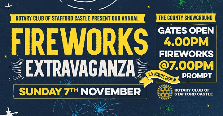 Staffordshire Fireworks Extravaganza image