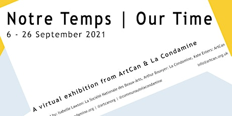 Notre Temps   Our Times Exhibition - Artists in Conversation tickets
