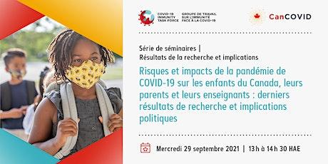 Série Groupe de travail sur l'immunité face à la COVID-19 et CanCOVID billets