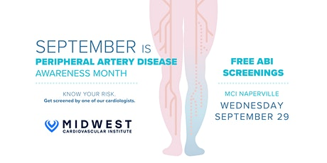Midwest Cardiovascular Institute: Free PAD Screening tickets