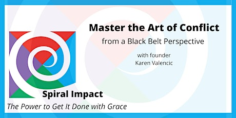 Mastering the Art of Conflict from a Black Belt Perspective tickets