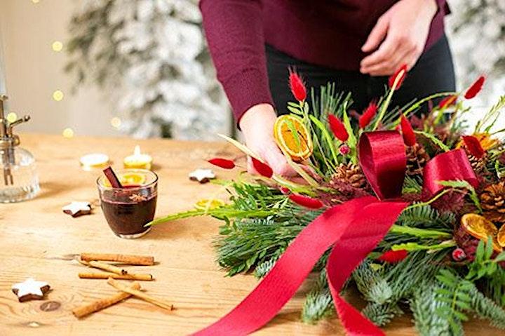 Christmas door wreath workshop image