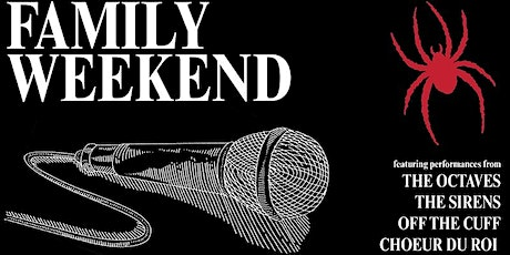 UR Family Weekend A Capella 2nd Concert tickets