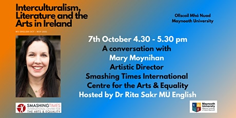 Interculturalism, Literature and the Arts in Ireland: Mary Moynihan tickets