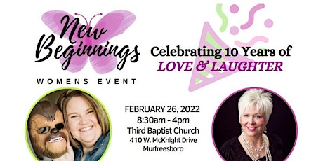 New Beginnings - Celebrating 10 Years of Love & Laughter tickets