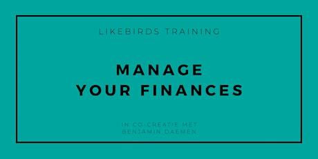 Manage your finances   Basic Training tickets