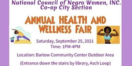 Annual Health and Wellness Fair tickets
