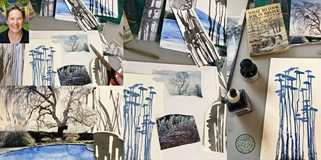 Create a winter landscape tickets