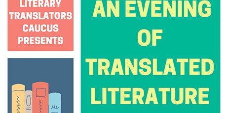 An Evening of Translated Literature: Readings from BIPOC Translators tickets