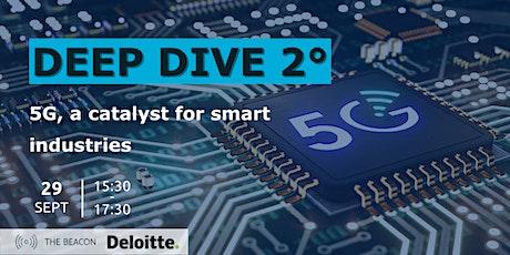 5G: a catalyst for smart industries | Deep Dive 2 biglietti