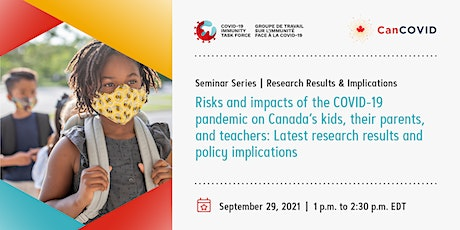 CITF & CanCOVID Seminar Series: Research Results and Implications Series tickets