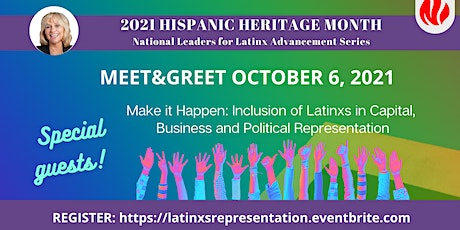 Meet&Greet: National Leaders for Latinx Advancement tickets