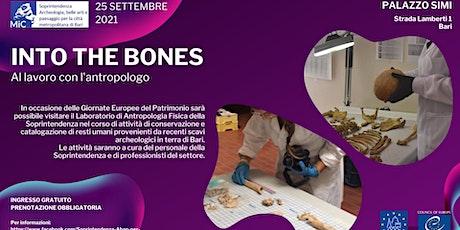 INTO THE BONES - Al lavoro con l'antropologo biglietti