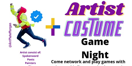 Artist Costume Game Night tickets