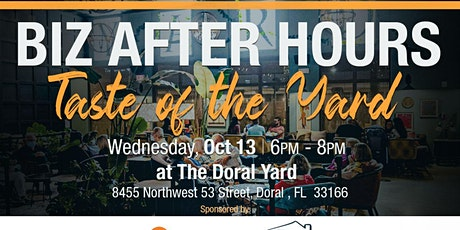 A Taste of The Yard- MIAMI Realtors Biz After Hours Networking tickets