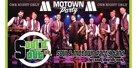 Soul'd Out Uk - Upbeat Motown & Soul Party Band tickets
