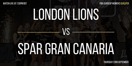 FIBA EuroCup Qualifier: London Lions vs Spar Gran Canaria tickets