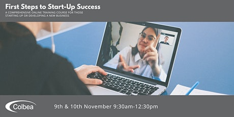 First Steps to Start-up Success - November 2021 tickets