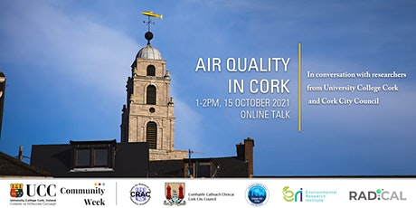 'Air Quality in Cork' public talk and Q&A tickets