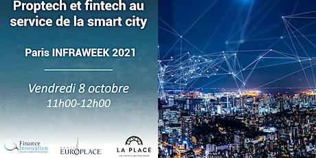 Proptech et fintech au service de la smart city billets