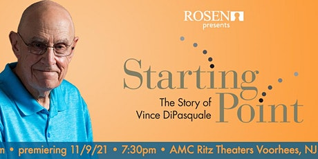Starting Point Movie Premiere - The Story of Vince DiPasquale tickets