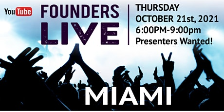 Founders Live MIAMI tickets