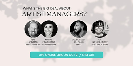 What's The Big Deal about Artist Managers? tickets