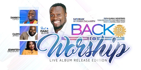 Back 2 Worship: Live Album Release Edition tickets