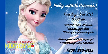 Party With A Princess - Event For Tots! tickets